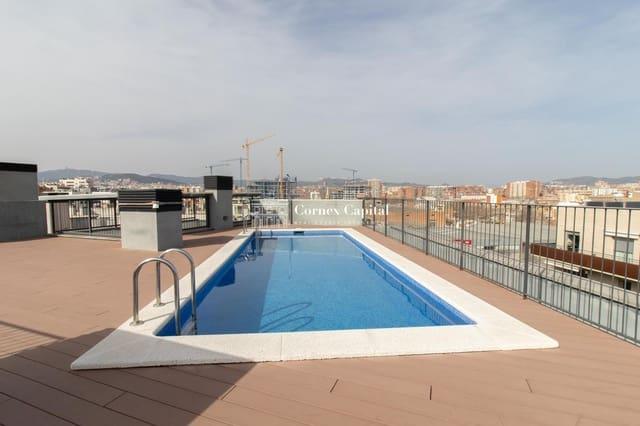 3 soverom Leilighet til leie i Barcelona by med svømmebasseng - € 1 460 (Ref: 6243083)