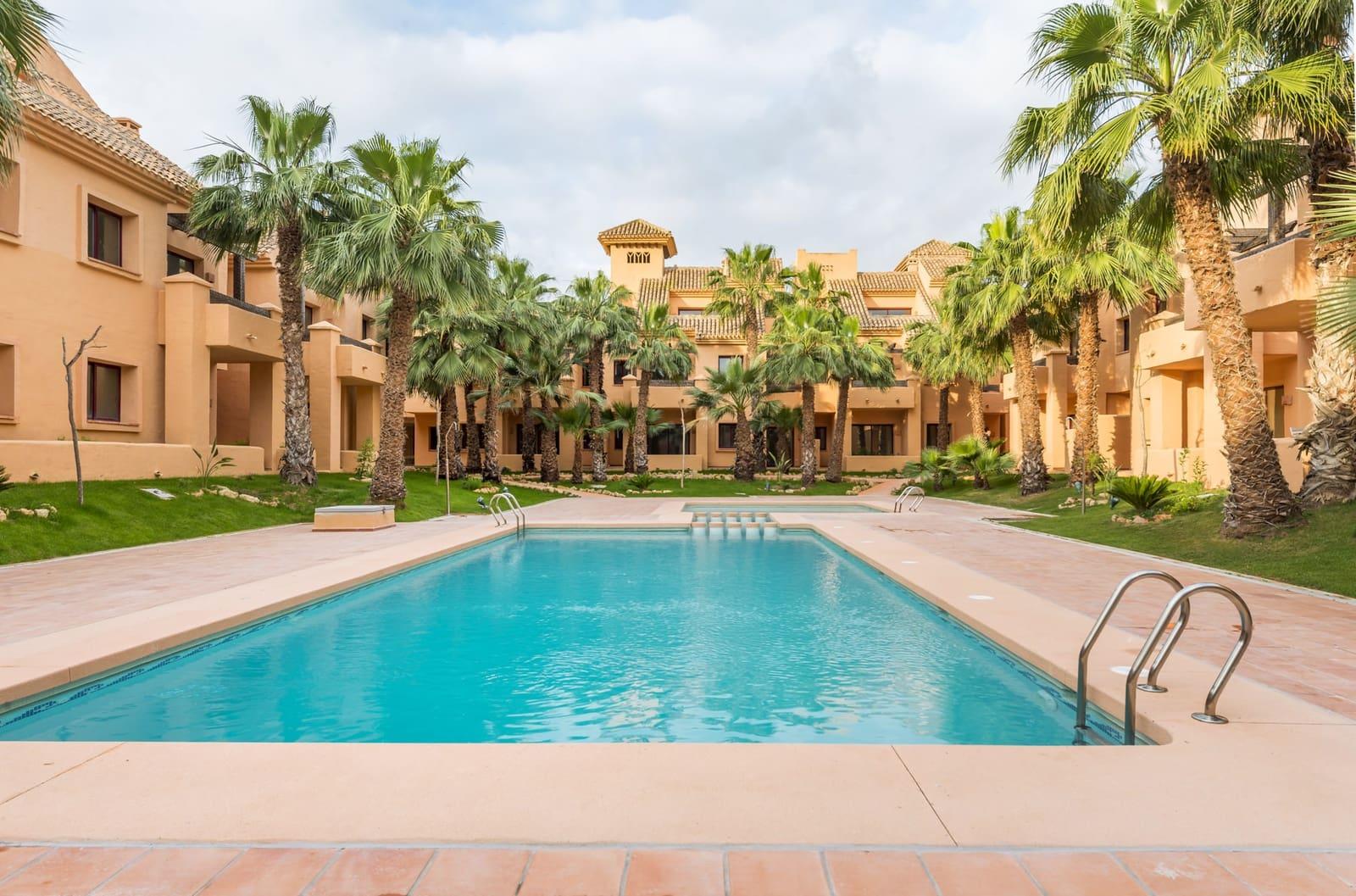 Apartamento de 2 habitaciones en Los Alcázares en venta con piscina garaje - 98.500 € (Ref: 4739035)