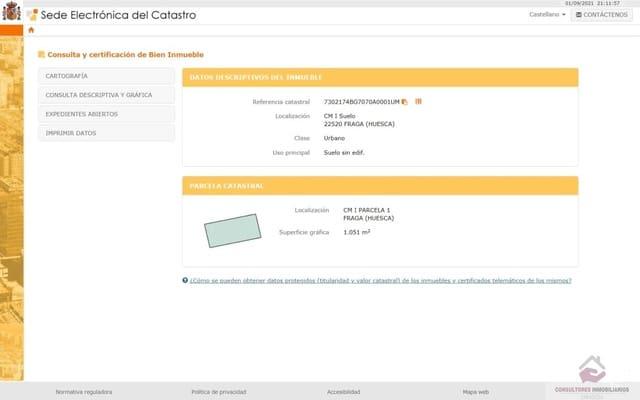 Terreno para Construção para venda em Fraga - 455 000 € (Ref: 6307129)