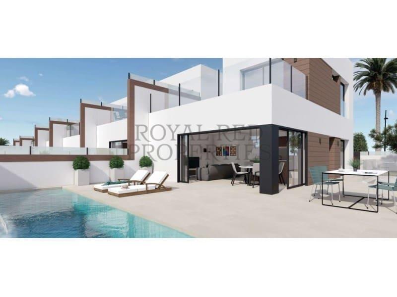 4 slaapkamer Halfvrijstaande villa te huur in Benijofar - € 1.900 (Ref: 5259241)