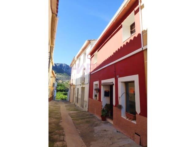 5 chambre Finca/Maison de Campagne à vendre à Vall de Gallinera - 126 000 € (Ref: 5237286)