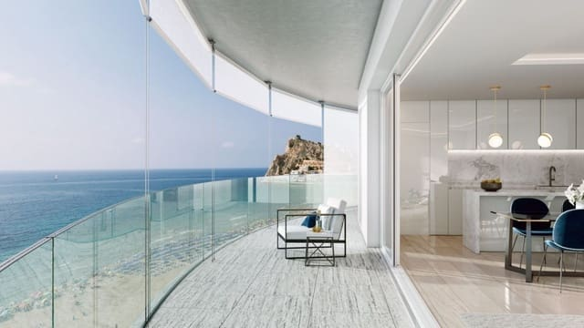 4 Zimmer Penthouse zu verkaufen in Benidorm mit Pool - 2.650.000 € (Ref: 5888958)