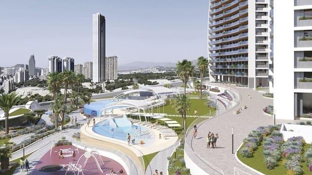3 soverom Penthouse til salgs i Benidorm med svømmebasseng - € 854 000 (Ref: 5954629)