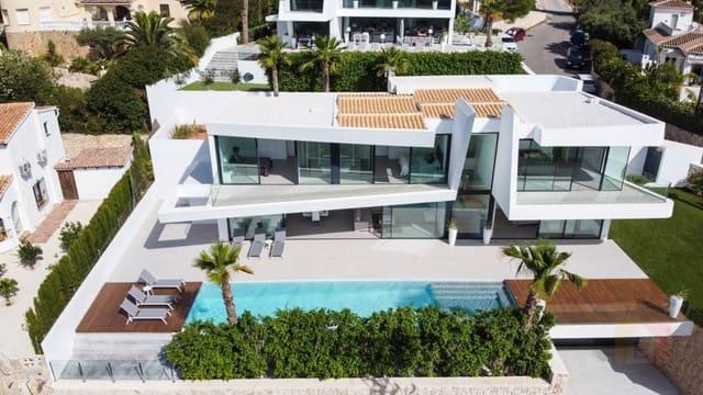 4 bedroom Villa for sale in Moraira with pool garage - € 1,750,000 (Ref: 6119283)