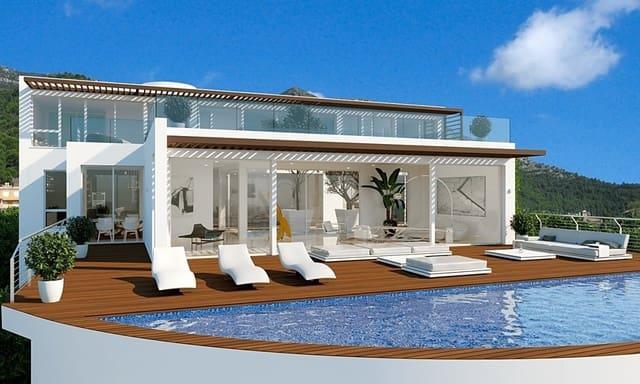 6 sovrum Villa till salu i Altea med pool - 1 200 000 € (Ref: 6313011)