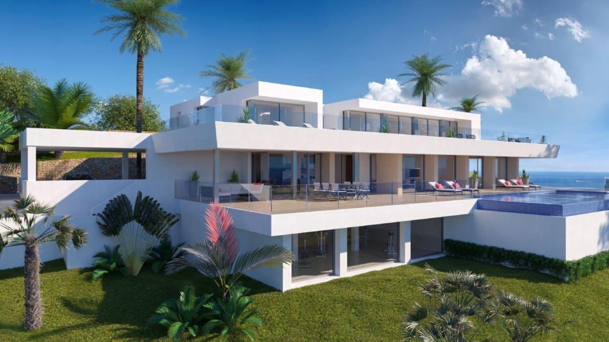6 sypialnia Willa na sprzedaż w Cumbre del Sol z basenem garażem - 2 450 000 € (Ref: 6313027)
