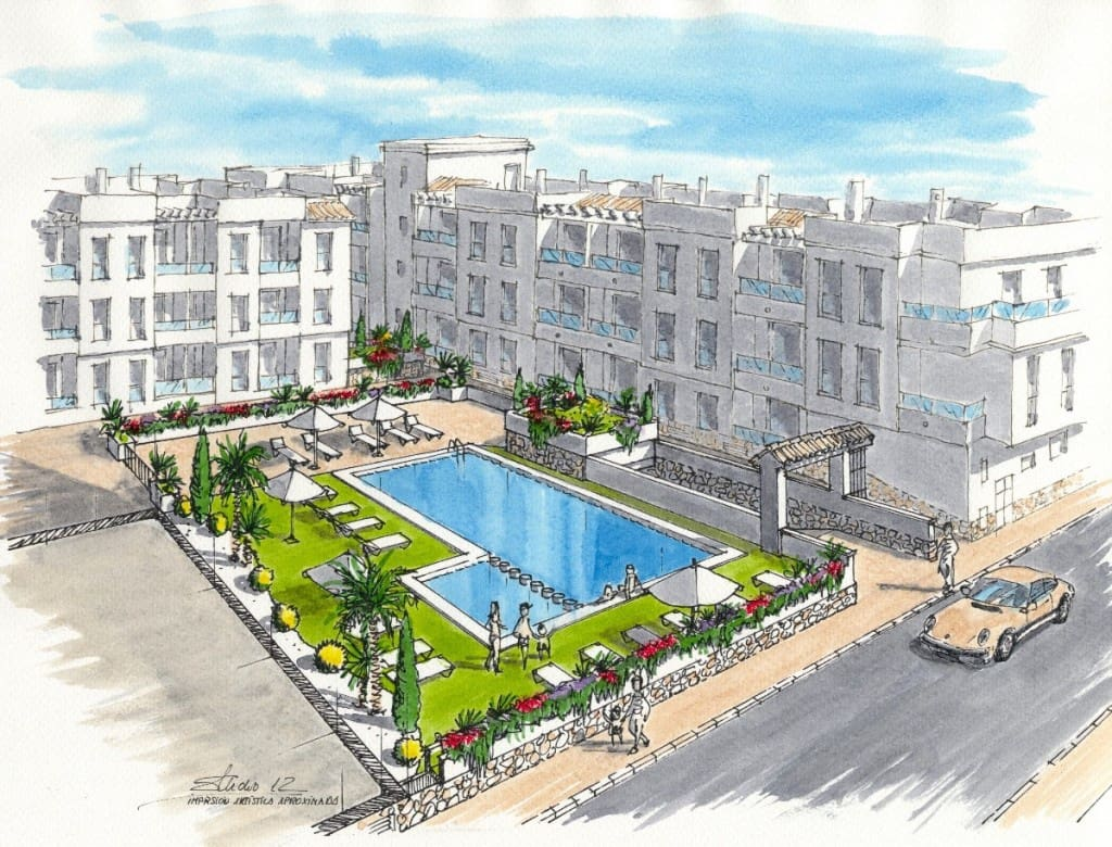 1 bedroom Apartment for sale in Torrevieja with pool - € 99,999 (Ref: 4921617)