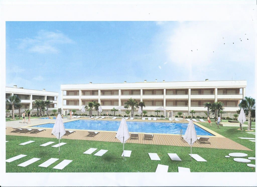 2 bedroom Apartment for sale in Gran Alacant with pool garage - € 132,500 (Ref: 4951480)