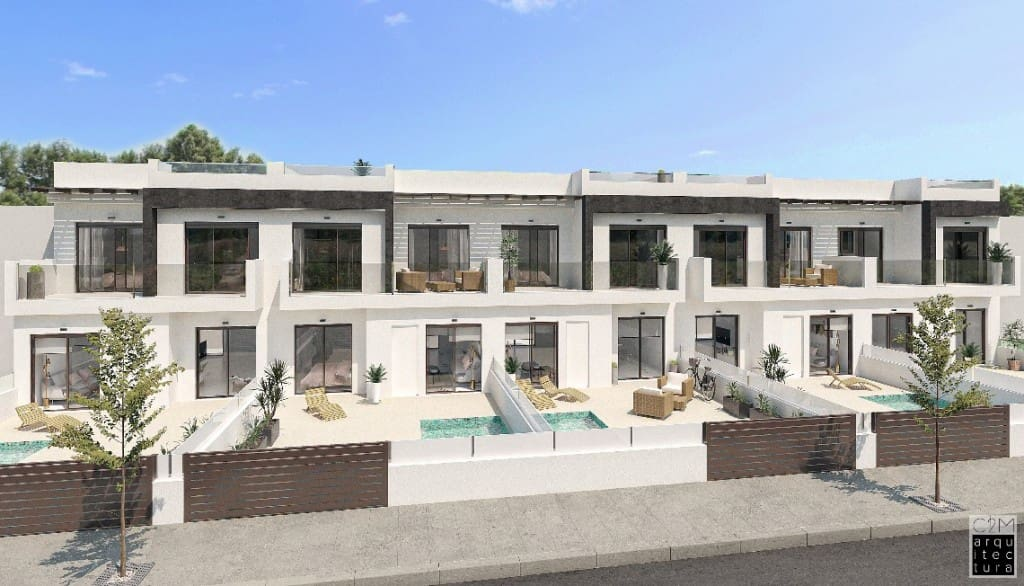 3 bedroom Townhouse for sale in San Pedro del Pinatar with pool - € 199,000 (Ref: 5186202)