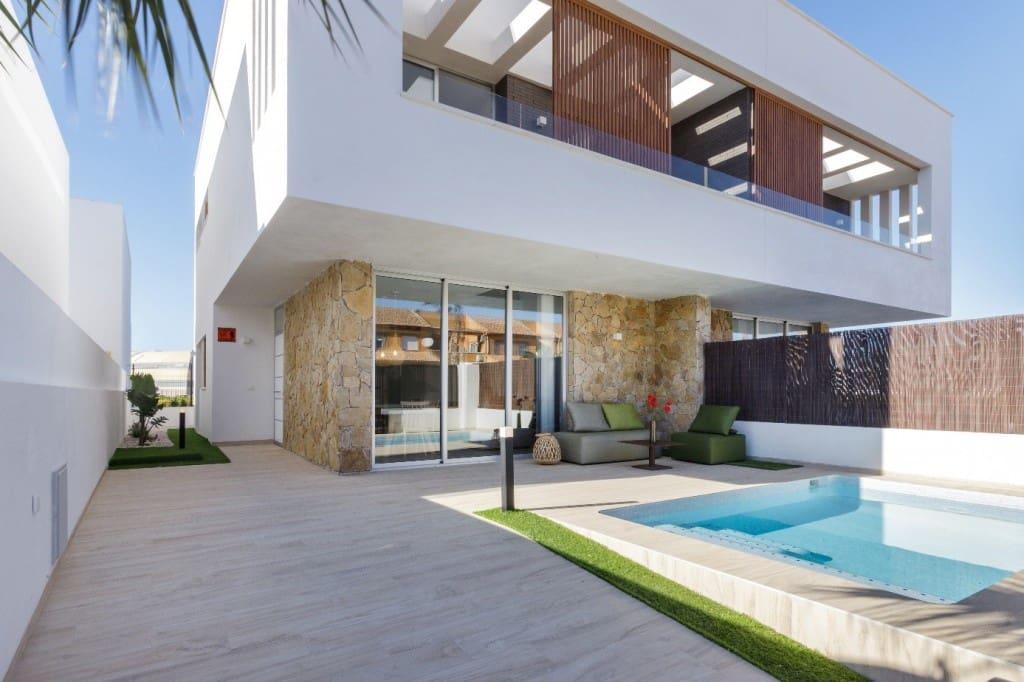 3 bedroom Villa for sale in San Pedro del Pinatar with pool - € 283,000 (Ref: 5423715)