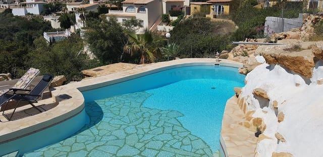 3 sypialnia Willa na kwatery wakacyjne w Benitachell / Benitatxell - 775 € (Ref: 4374644)