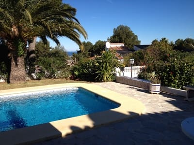 3 bedroom Villa for sale in Denia with pool garage - € 450,000 (Ref: 4421020)