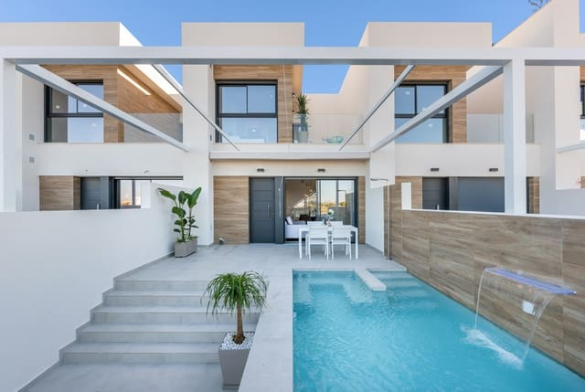 3 soveværelse Rækkehus til salg i Rojales med swimmingpool - € 228.900 (Ref: 6000082)