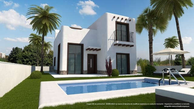 3 soveværelse Villa til salg i Rojales med swimmingpool garage - € 357.347 (Ref: 6000148)