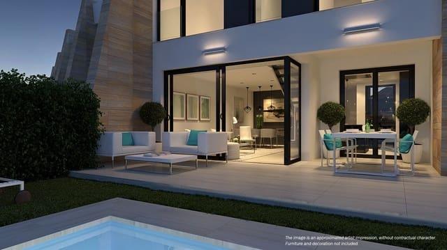 3 soveværelse Rækkehus til salg i Orihuela med swimmingpool garage - € 345.000 (Ref: 6000267)