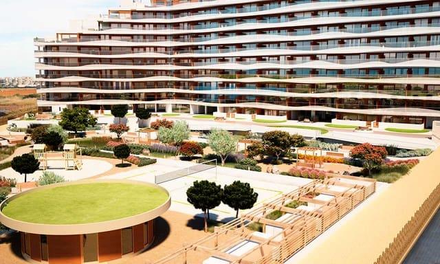 2 soveværelse Strandlejlighed til salg i La Manga del Mar Menor med swimmingpool garage - € 163.000 (Ref: 6000304)