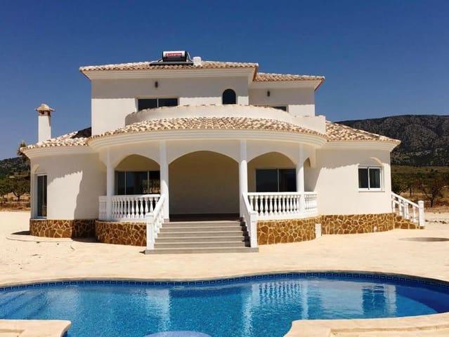 4 soveværelse Villa til salg i Pinoso med swimmingpool garage - € 325.000 (Ref: 6044036)