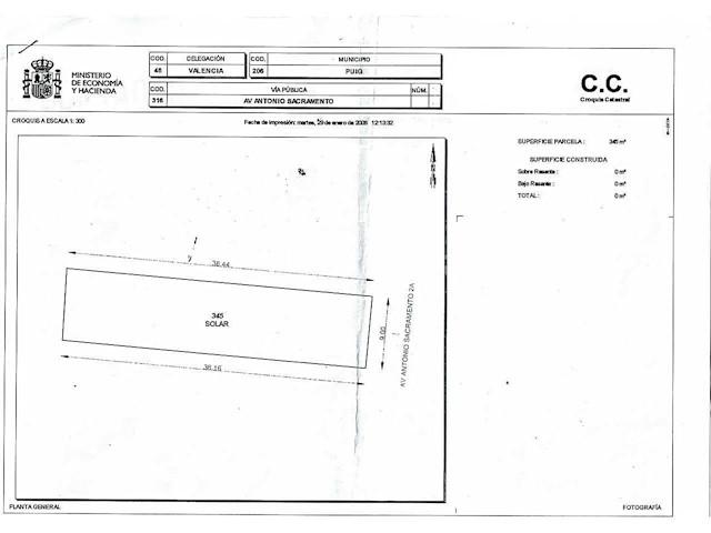 Terre non Aménagée à vendre à Puig - 190 000 € (Ref: 3594868)