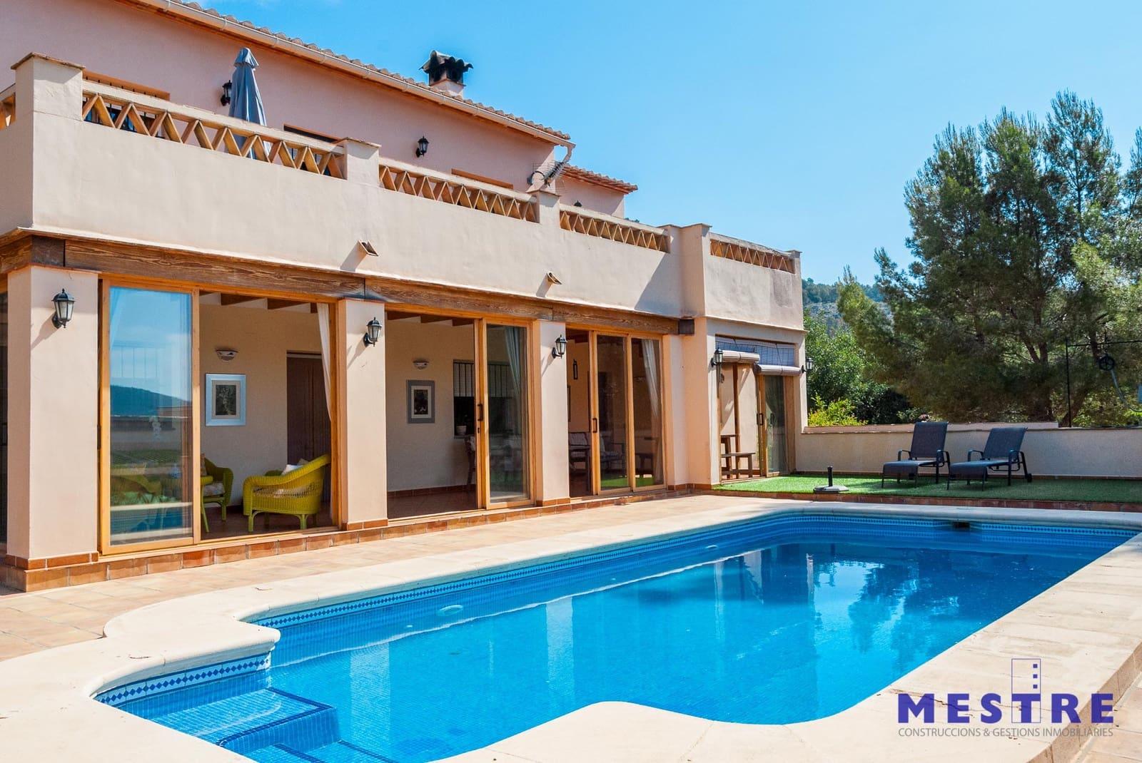 4 sovrum Finca/Hus på landet att hyra i Jalon / Xalo med pool garage - 1 600 € (Ref: 4150548)