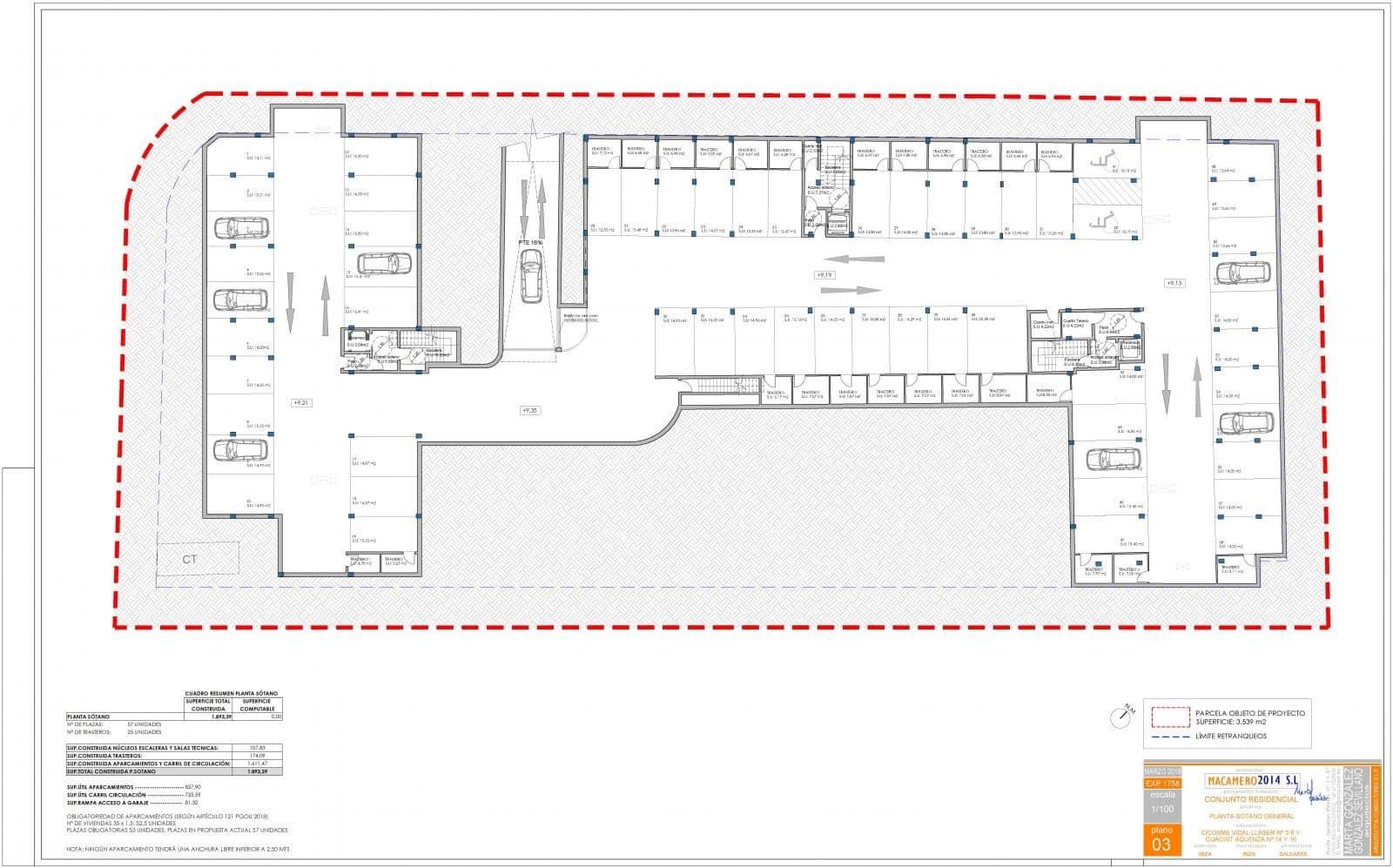 Garagem para venda em Ibiza / Eivissa cidade - 23 000 € (Ref: 4678603)