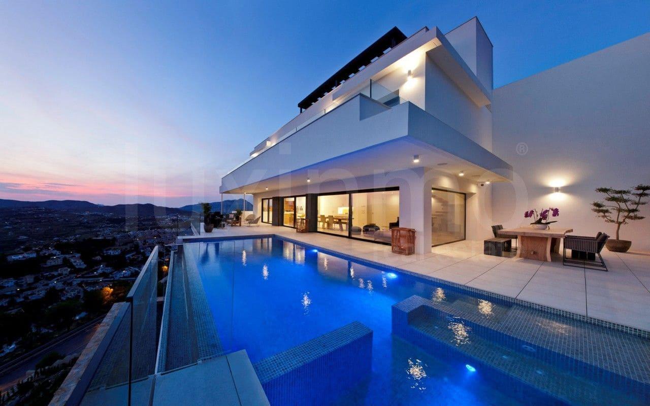 3 Zimmer Villa zu verkaufen in Cumbre del Sol mit Pool Garage ...