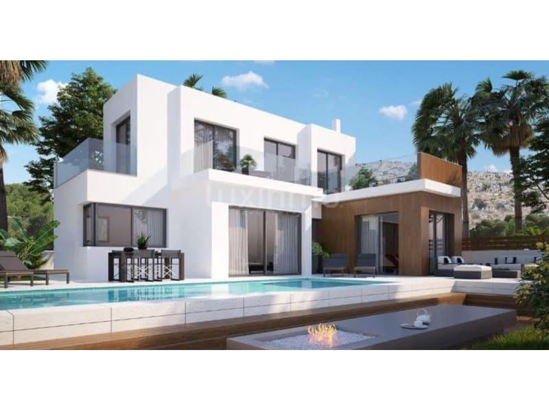 Chalet de 3 habitaciones en Polop en venta con piscina - 375.400 € (Ref: 5013531)