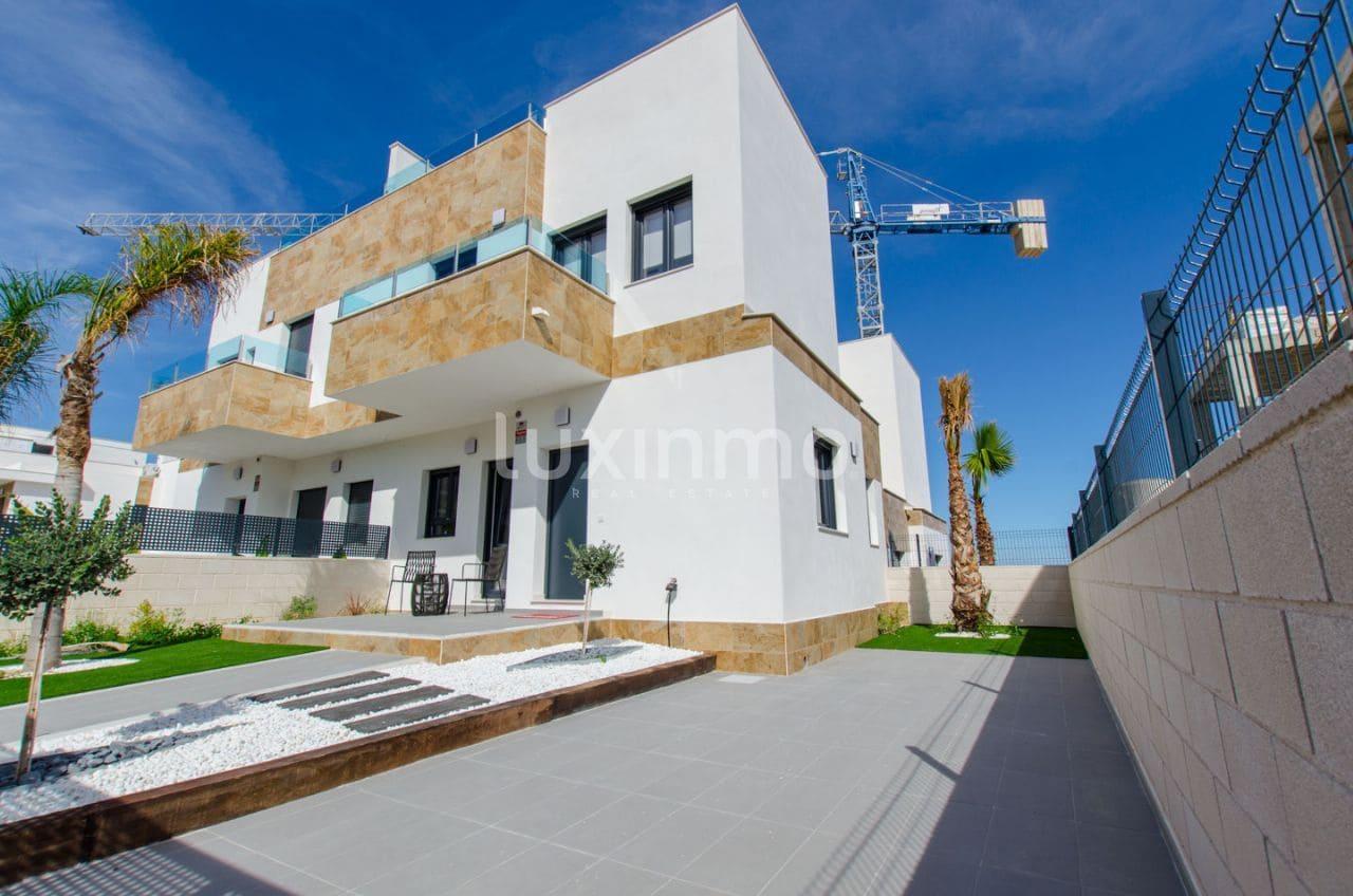 Pareado de 3 habitaciones en Polop en venta con piscina garaje - 197.500 € (Ref: 5015289)