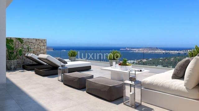 3 chambre Penthouse à vendre à San Jose / Sant Josep de Sa Talaia avec piscine - 975 000 € (Ref: 5592807)