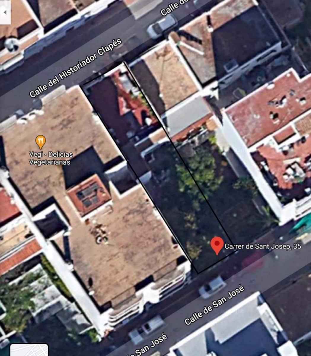 Byggetomt til salgs i Santa Eulalia / Santa Eularia - € 1 120 000 (Ref: 5554281)