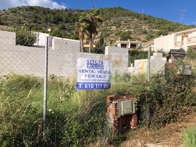 Tomt till salu i Sitges - 300 000 € (Ref: 5237822)