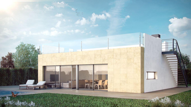 Chalet de 3 habitaciones en Polop en venta con piscina - 265.000 € (Ref: 3780636)