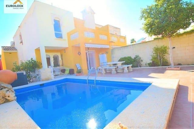 4 chambre Villa/Maison Mitoyenne à vendre à L'Alfas del Pi avec piscine garage - 210 000 € (Ref: 5341518)