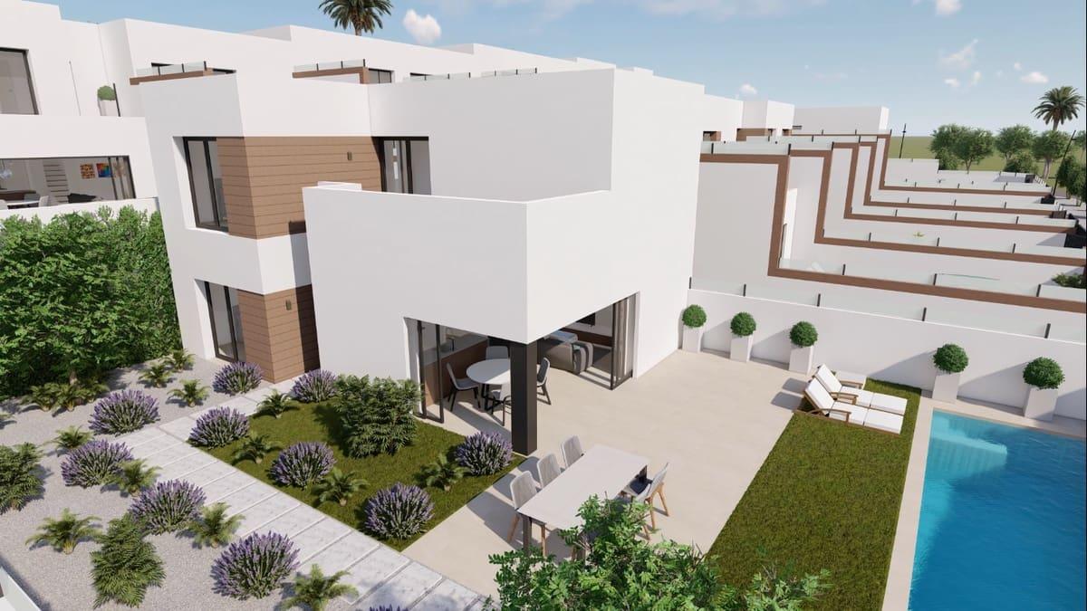 Chalet de 3 habitaciones en Benijófar en venta con piscina garaje - 450.000 € (Ref: 4707327)