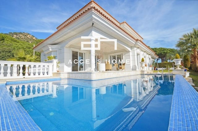 6 soveværelse Villa til leje i Cabrils med swimmingpool garage - € 6.000 (Ref: 5888417)