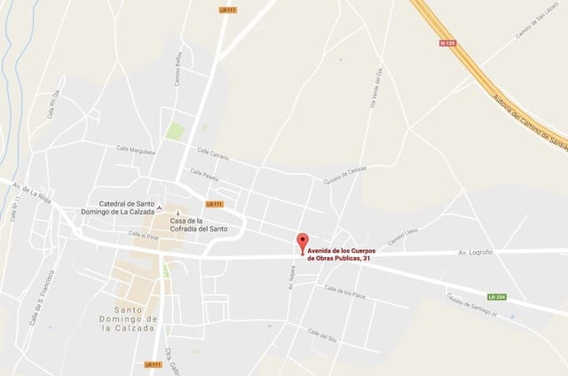 Kommersiell till salu i Santo Domingo de la Calzada - 44 325 € (Ref: 4295583)