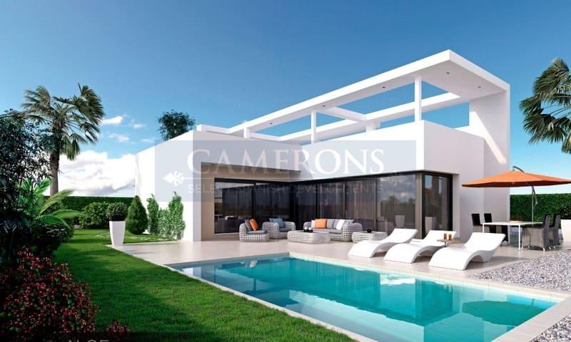 Chalet de 2 habitaciones en Benijófar en venta con piscina - 385.000 € (Ref: 5047311)