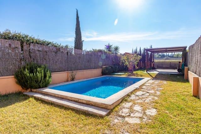 3 chambre Villa/Maison Mitoyenne à vendre à Algaida avec piscine garage - 440 000 € (Ref: 5118461)