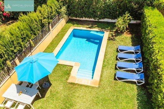 3 soverom Kjedet enebolig til leie i Llucmajor med svømmebasseng garasje - € 1 900 (Ref: 5413847)