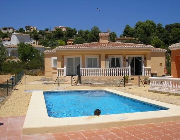 2 sovrum Bungalow till salu i Jalon / Xalo med pool - 129 000 € (Ref: 5256130)
