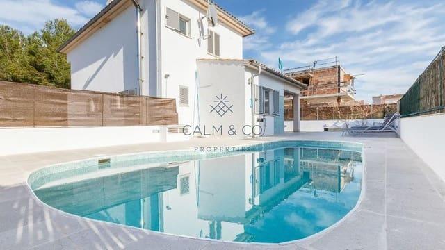 4 soverom Rekkehus til salgs i Ca'n Picafort med svømmebasseng garasje - € 630 000 (Ref: 4183966)