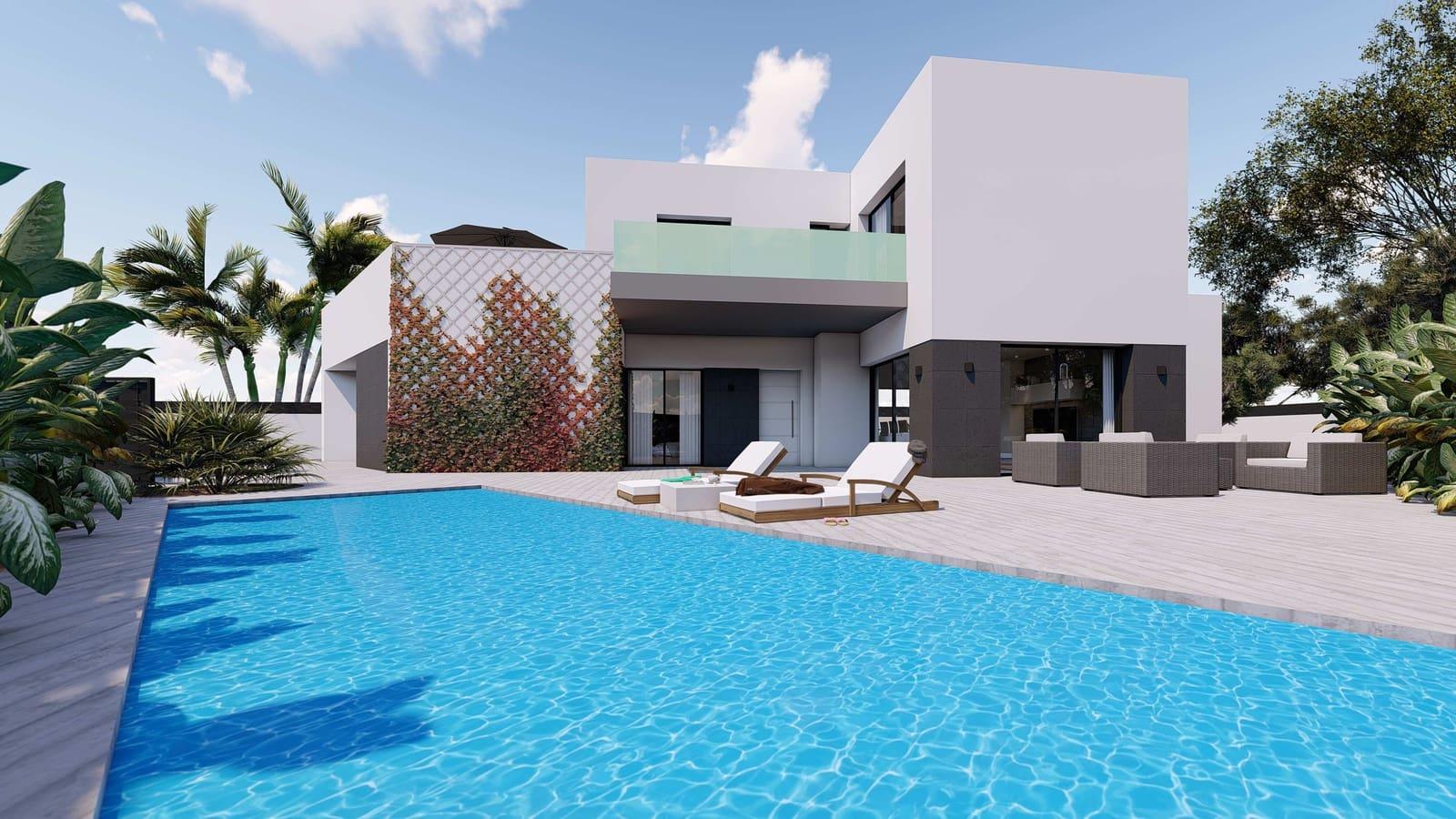 Chalet de 3 habitaciones en Benijófar en venta con piscina garaje - 348.000 € (Ref: 4356264)