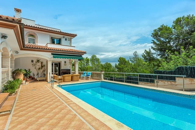 8 chambre Maison de Ville à vendre à Calvia avec piscine - 4 200 000 € (Ref: 5489172)
