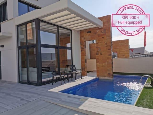 3 soveværelse Villa til salg i Cabo Roig med swimmingpool garage - € 359.900 (Ref: 3693215)
