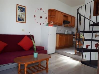 1 slaapkamer Finca/Landhuis te huur in Fataga - € 500 (Ref: 5115303)