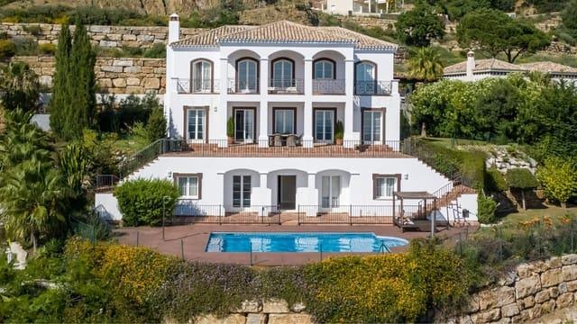 Chalet de 4 habitaciones en Istán en venta con piscina garaje - 1.450.000 € (Ref: 3477505)