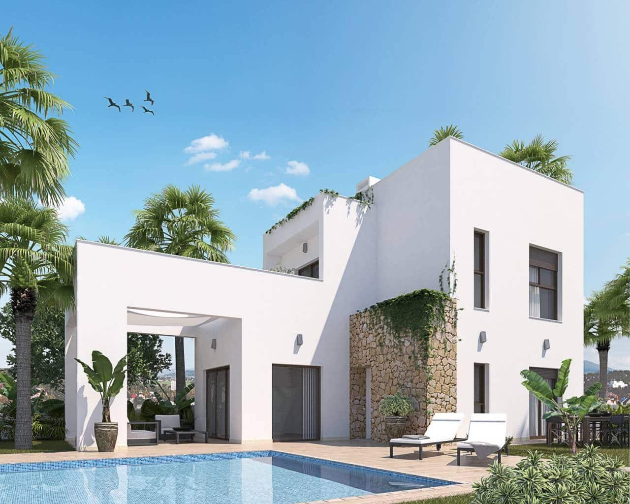 3 bedroom Villa for sale in Aguas Nuevas with pool garage - € 345,000 (Ref: 4301091)