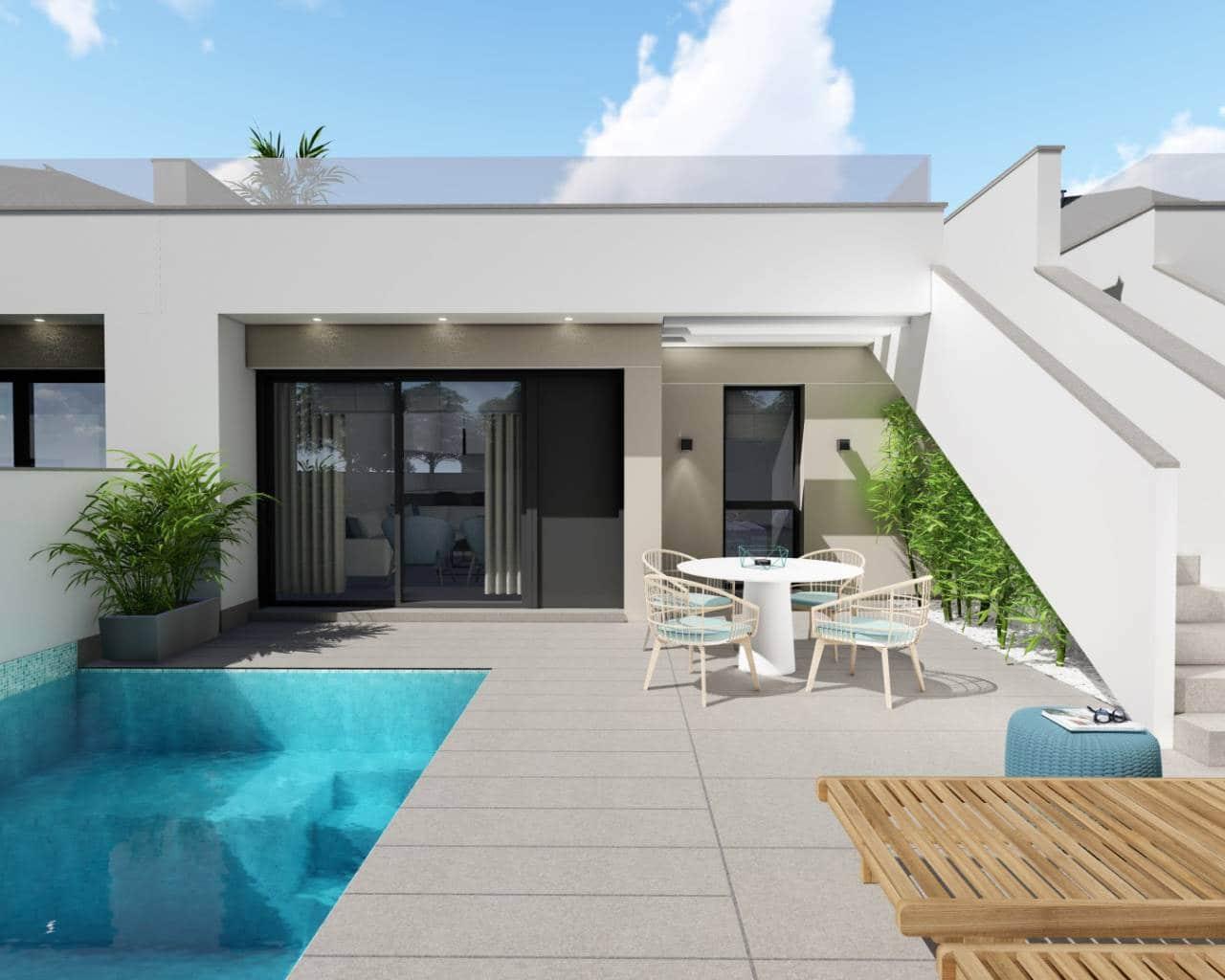 Chalet de 2 habitaciones en Pilar de la Horadada en venta con piscina - 189.000 € (Ref: 5076852)