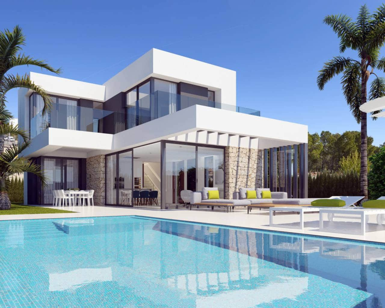 3 bedroom Villa for sale in Finestrat with pool - € 810,000 (Ref: 5716580)