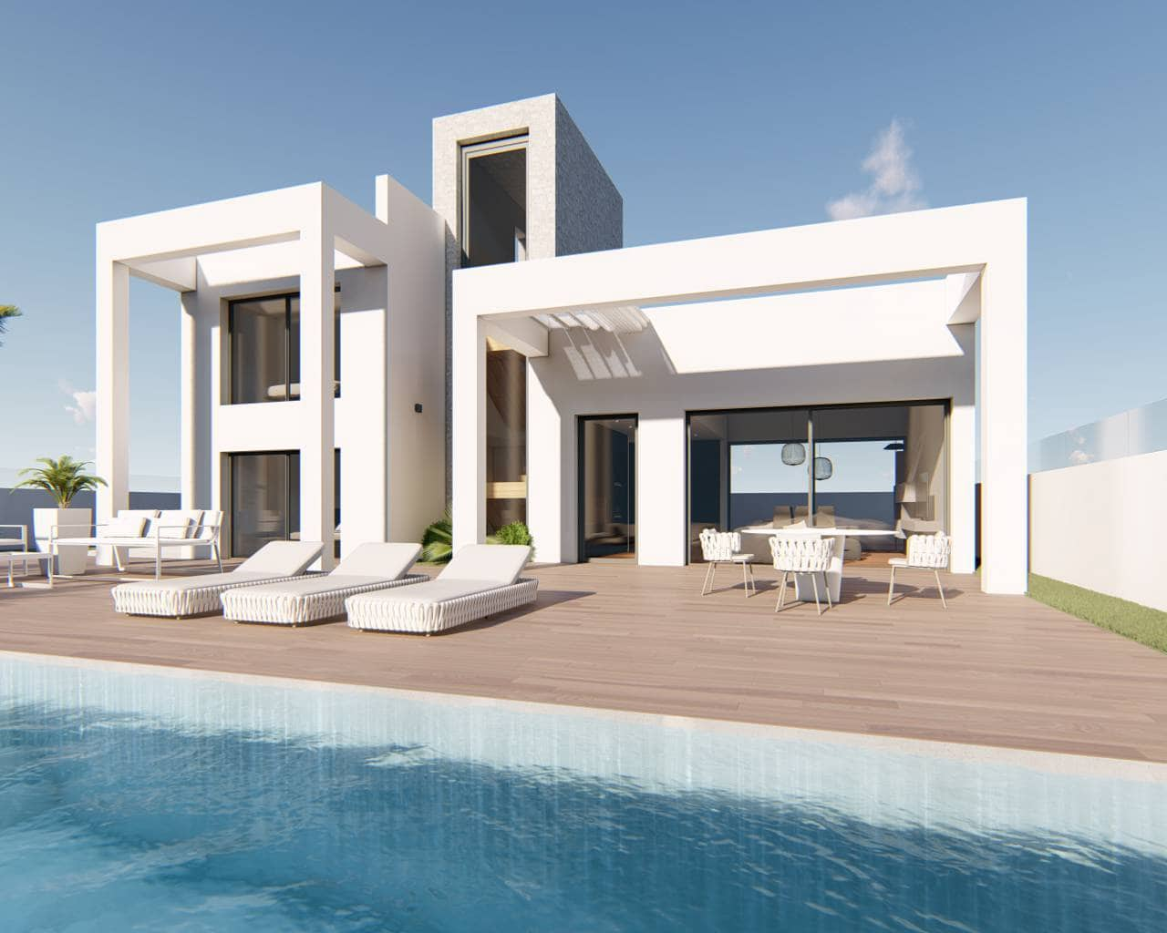 3 bedroom Villa for sale in Finestrat with pool - € 399,900 (Ref: 5716668)