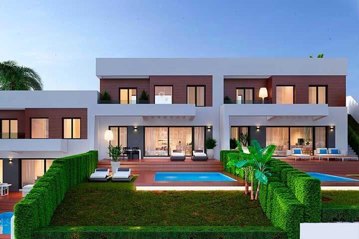 3 bedroom Semi-detached Villa for sale in Finestrat with pool garage - € 295,000 (Ref: 4493968)